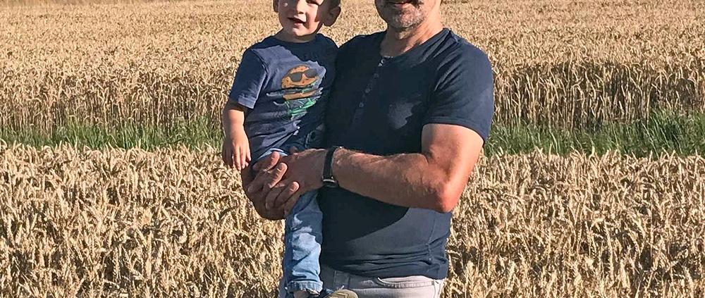 Landwirt Andreas Treutlein