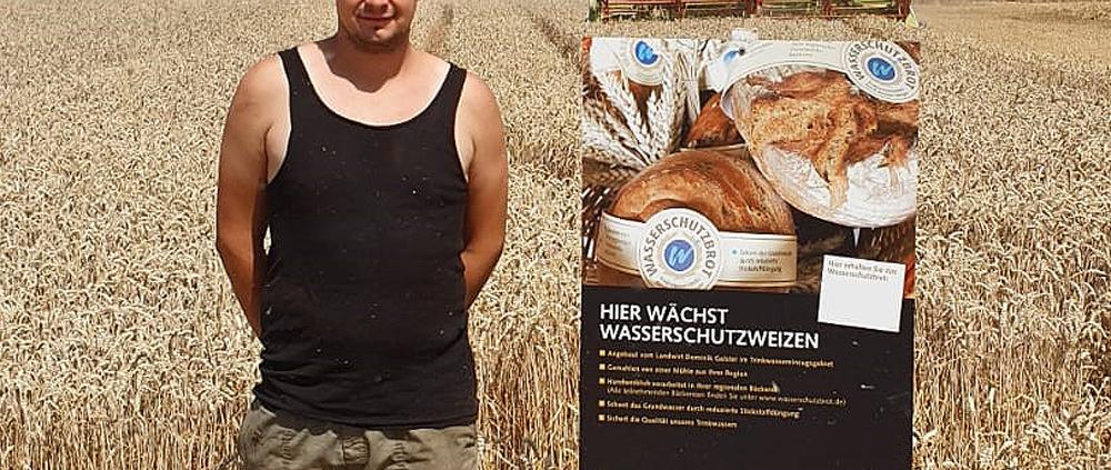 Landwirt Dominik Galster