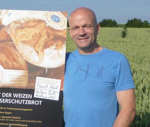 Landwirt Horst Düll