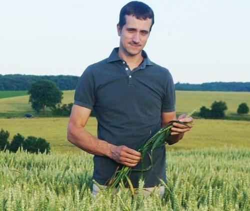 Landwirt Wolfgang Hüsam