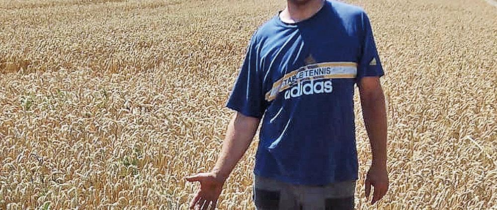 Landwirt Johannes Ehehalt