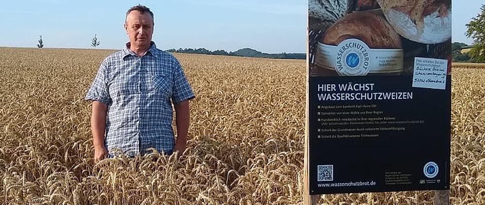 Landwirt Karl-Heinz Ott