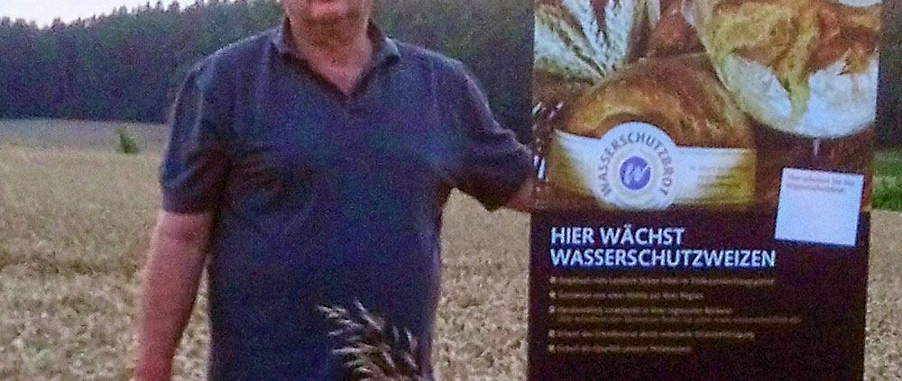Landwirt Dieter Erbel