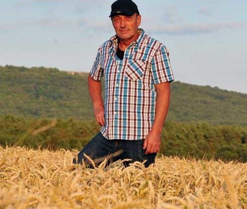 Landwirt Leo Goeller