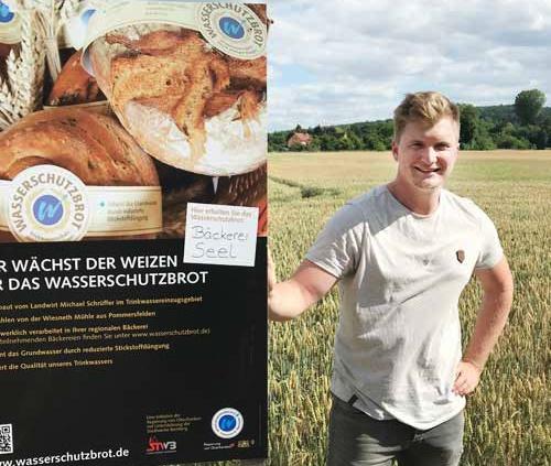 Landwirt Michael Schrueffer
