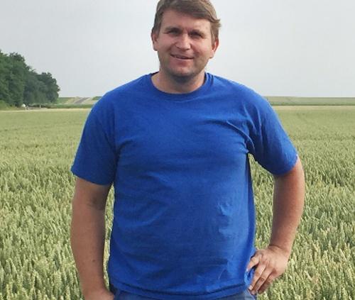 Landwirt Wolfgang Moser