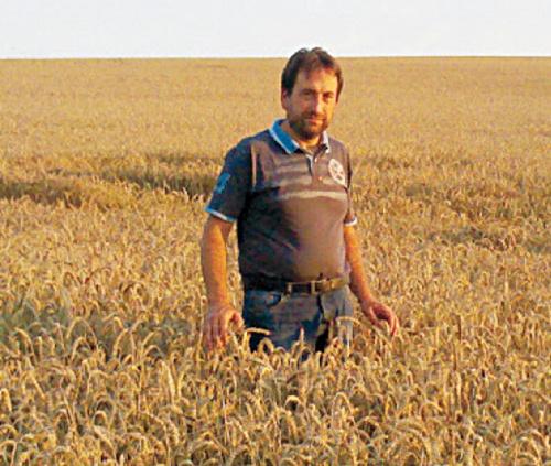 Landwirt Rainer Ochs