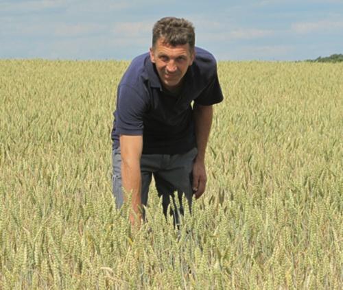 Landwirt Wolfgang Seitz