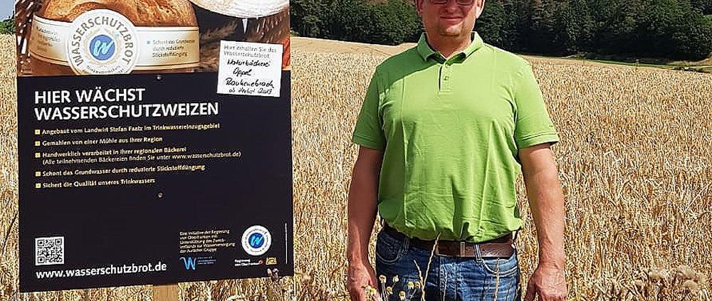 Landwirt Stefan Faatz